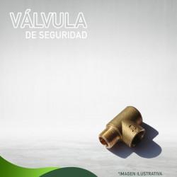 VÁLVULA DE SEGURIDAD