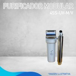 PURIFICADOR MODULAR 4SS-UV-M/V