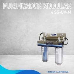 PURIFICADOR MODULAR 4 SS-UV-M