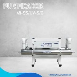 PURIFICADOR 48-SS/UV-S/G...
