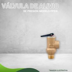VÁLVULA DE ALIVIO DE PRESIÓN