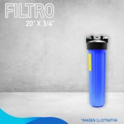 """FILTRO  DE 20"""" X  ¾"""""""